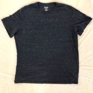 Mossimo Men's Tee, Heathered Navy Blue, Size XXL